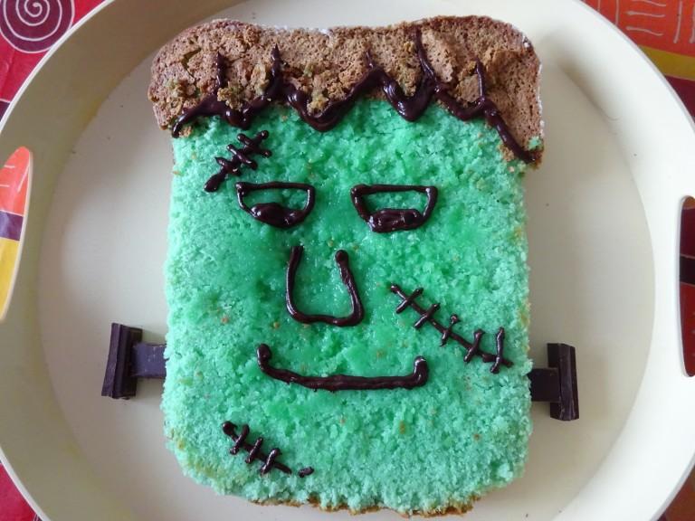 Torta Frankeinstein senza glutine e lattosio