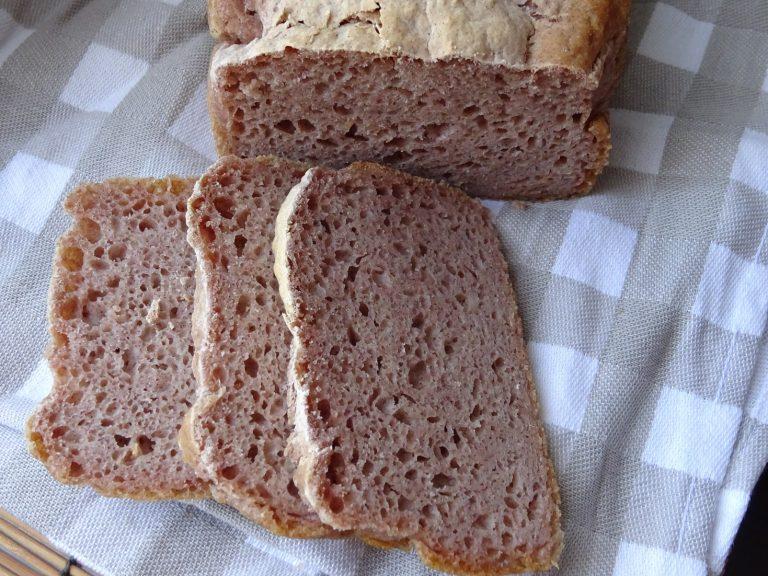 Pane di Sorgo senza glutine e lattosio