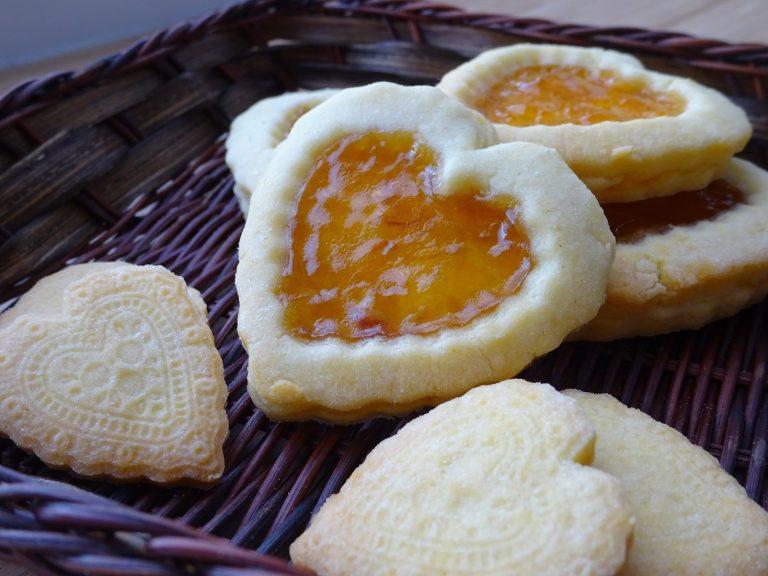 Biscottini da the senza glutine e lattosio