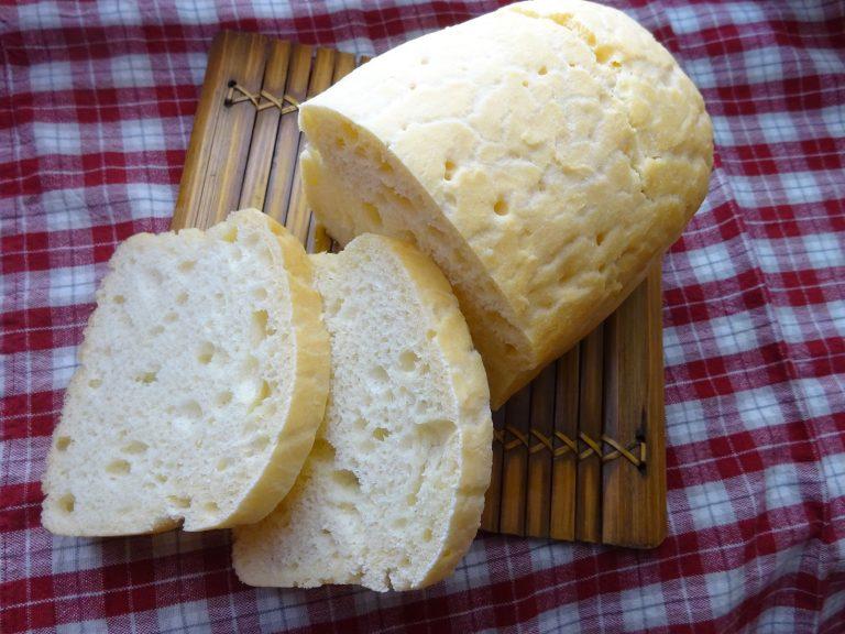 Pane Bianco senza glutine e lattosio