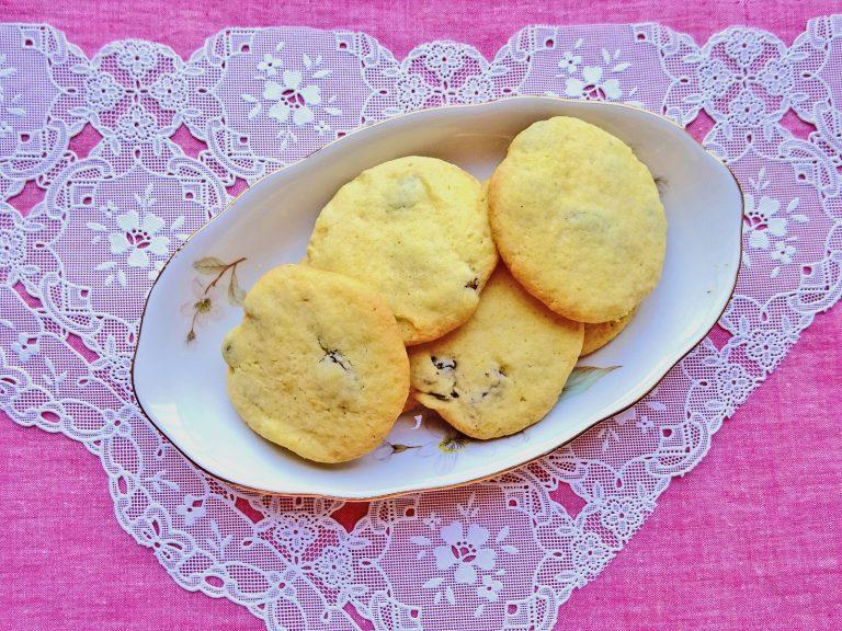 Biscotti Uvetta e Moscato senza glutine e lattosio