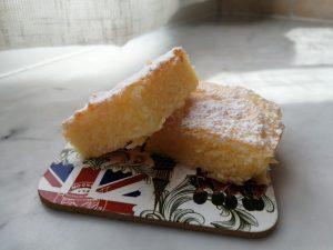 Brownies Bianchi al limone senza glutine 2