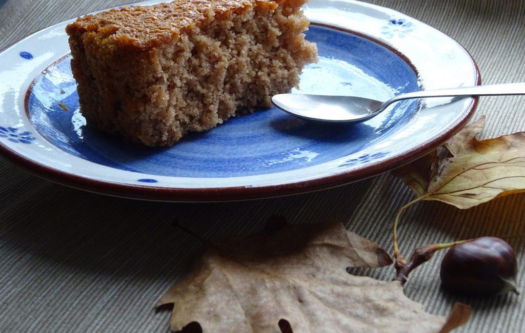 Torta di Castagne senza glutine e lattosio