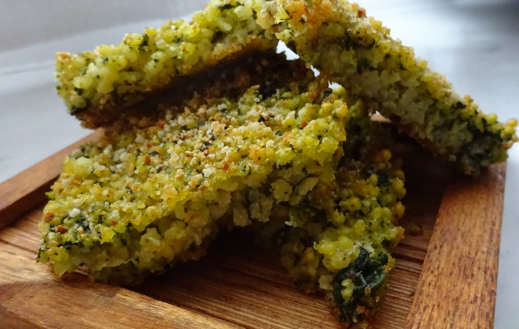 Miglio al forno con spinaci senza glutine e lattosio